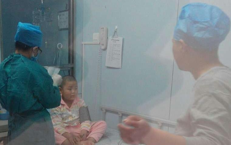 """""""火种工程""""患儿顺利接受脐带血移植"""